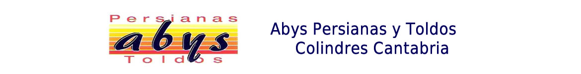 Logotipo Abys Persianas